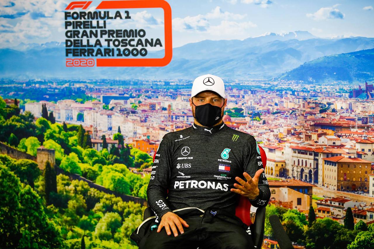 バルテリ・ボッタス 「ルイスからポジションを取り戻す術はなかった」 / メルセデス F1トスカーナGP 決勝