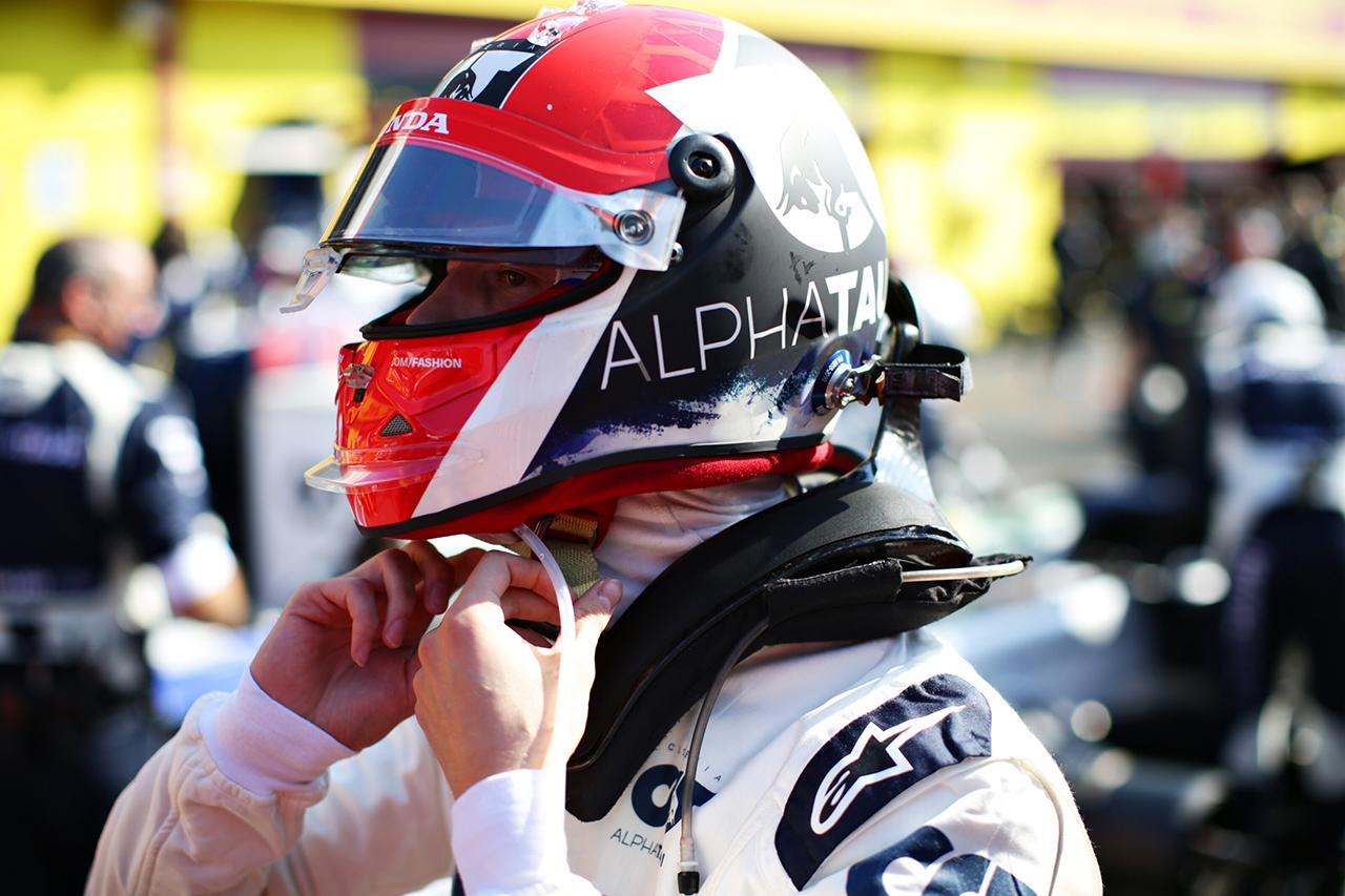 ダニール・クビアト 「体力的にもメンタル面でも難しいレースだった」 / アルファタウリ・ホンダ F1トスカーナGP 決勝