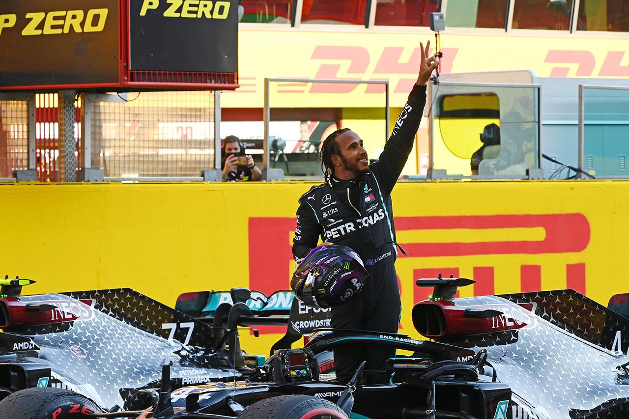 ルイス・ハミルトン 「放心状態。1日に3レースしたような気分」 / メルセデス F1トスカーナGP 決勝