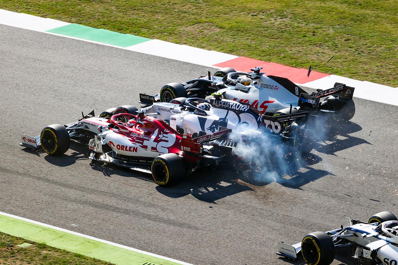 ピエール・ガスリー 「残念だけど誰も責めることができない状況だった」 / アルファタウリ・ホンダ F1トスカーナGP 決勝