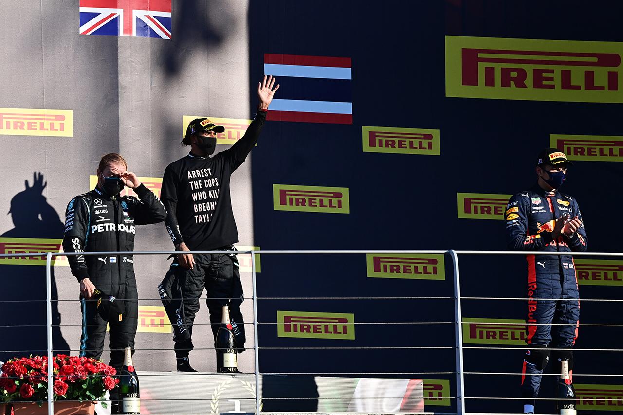 2020年 F1ポイントランキング:ルイス・ハミルトンがリードを拡大 / 第9戦 F1トスカーナGP 終了時点