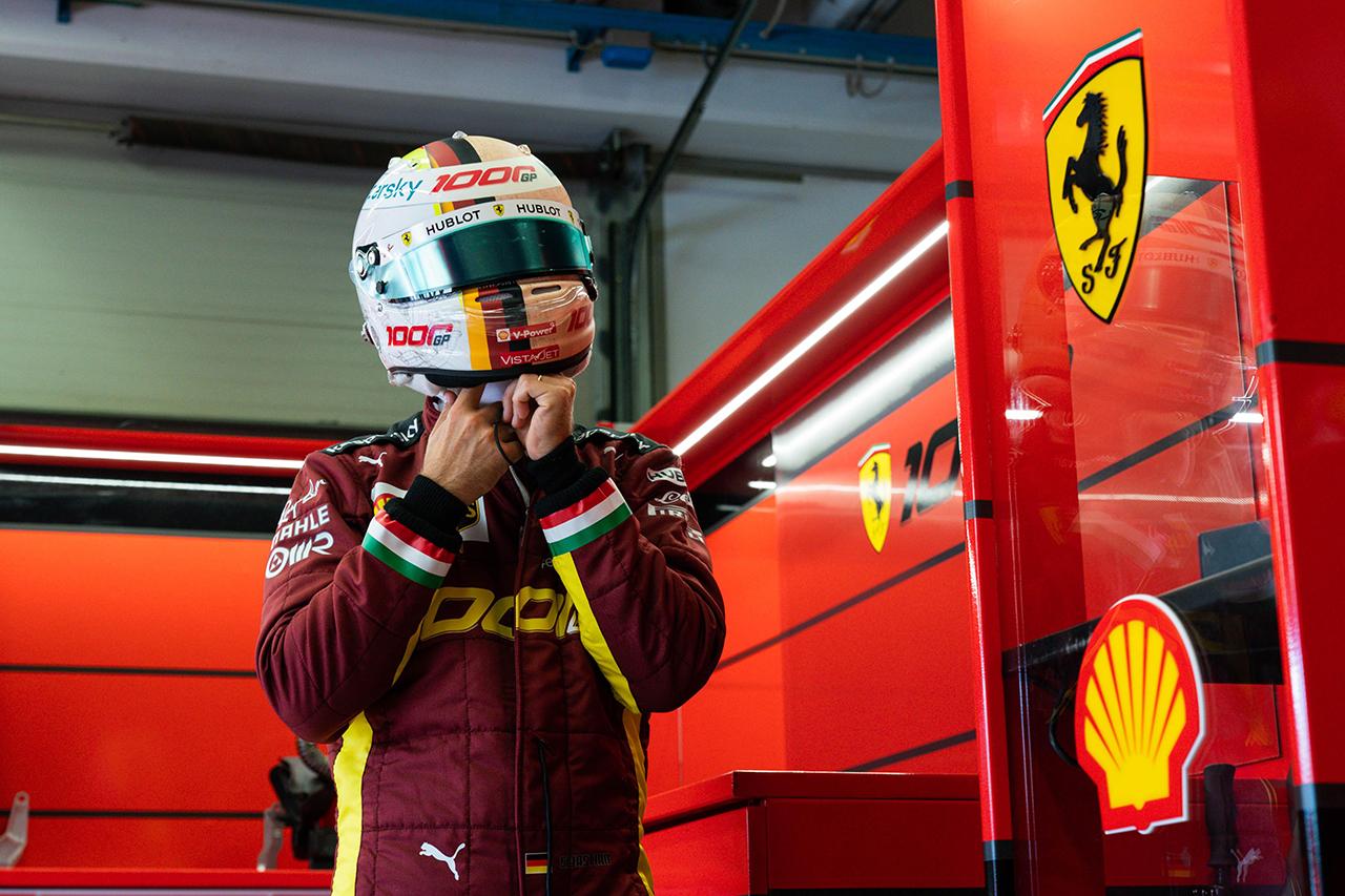 セバスチャン・ベッテル 「ポイント獲得はポジティブだけど満足はできない」 / フェラーリ F1トスカーナGP 決勝