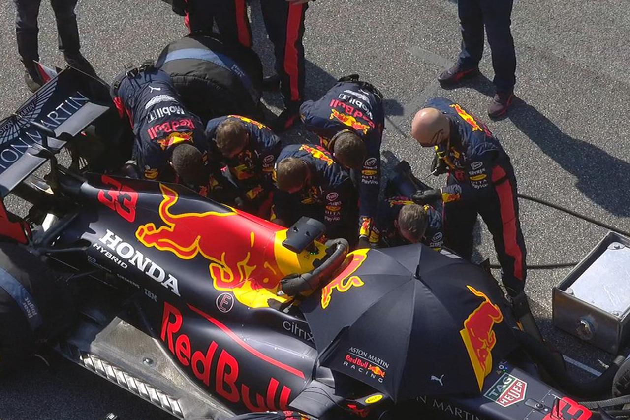 マックス・フェルスタッペン 「モンツァと同じエンジンの問題だと思う」 / レッドブル・ホンダ F1トスカーナGP 決勝