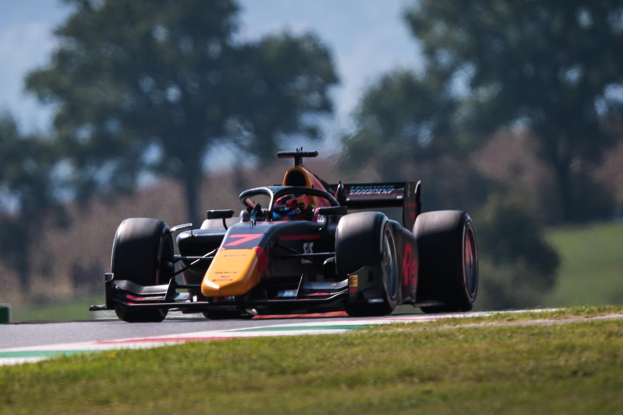 角田裕毅、第9戦でノーポント 「気持ちを切り替えて残り3戦に臨みたい」 / FIA-F2
