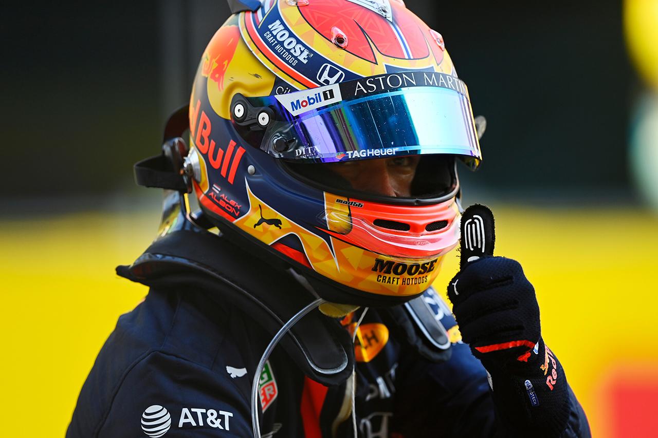 レッドブルF1代表 「アルボンの自信を高めるタイムリーな初表彰台」