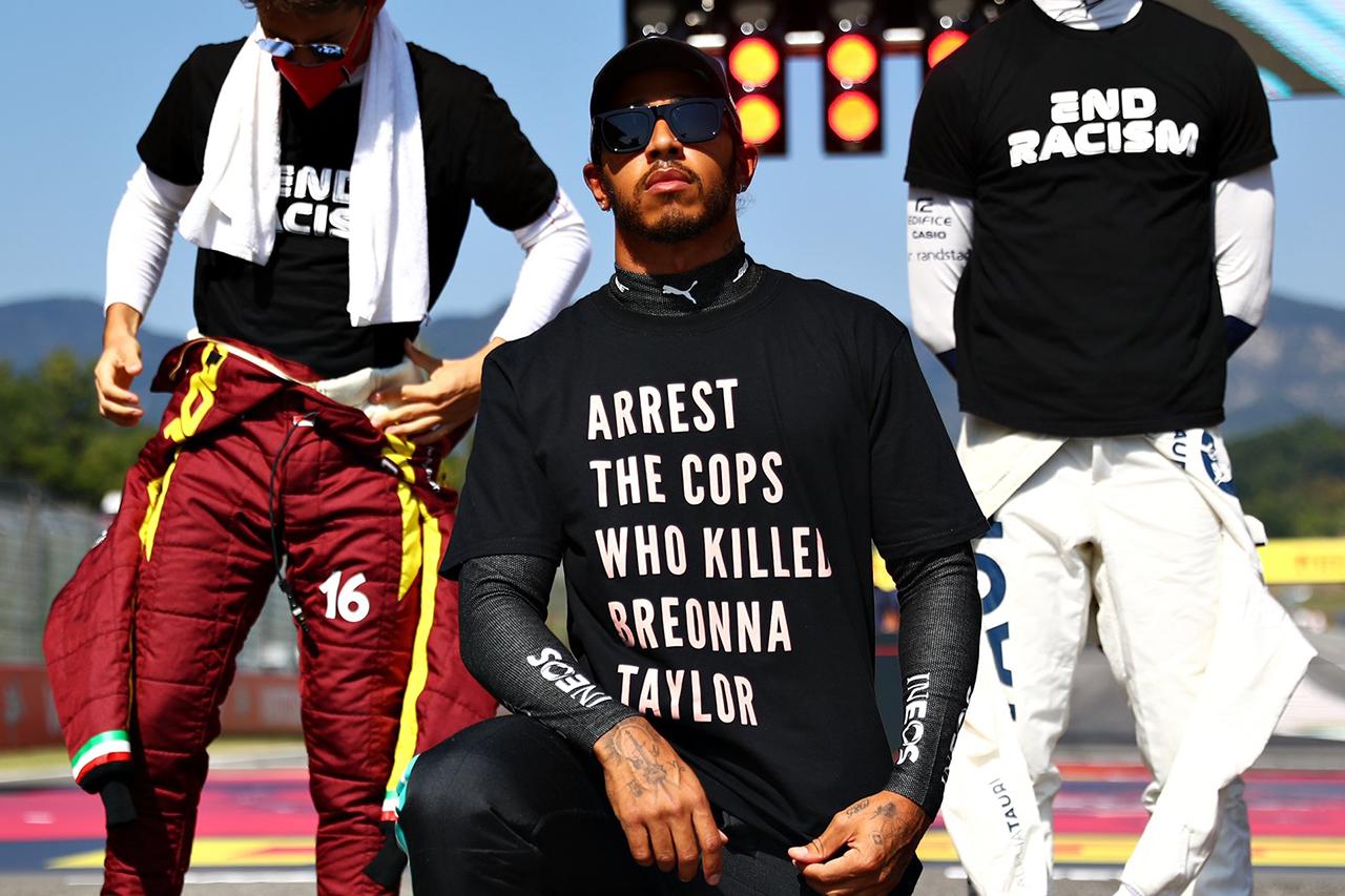 F1:ルイス・ハミルトン、政治的なTシャツはお咎めなしも今後は制限