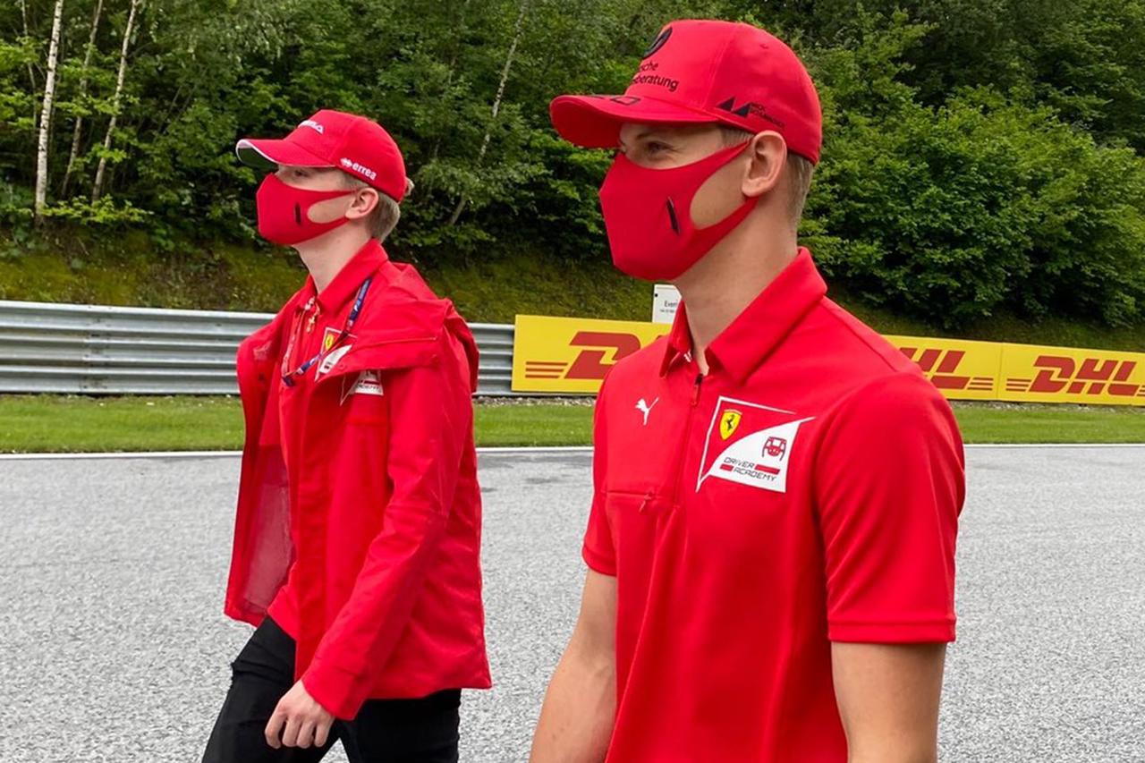 ロバート・シュワルツマン 「シューマッハは他のライバルと変わらない」 / FIA-F2