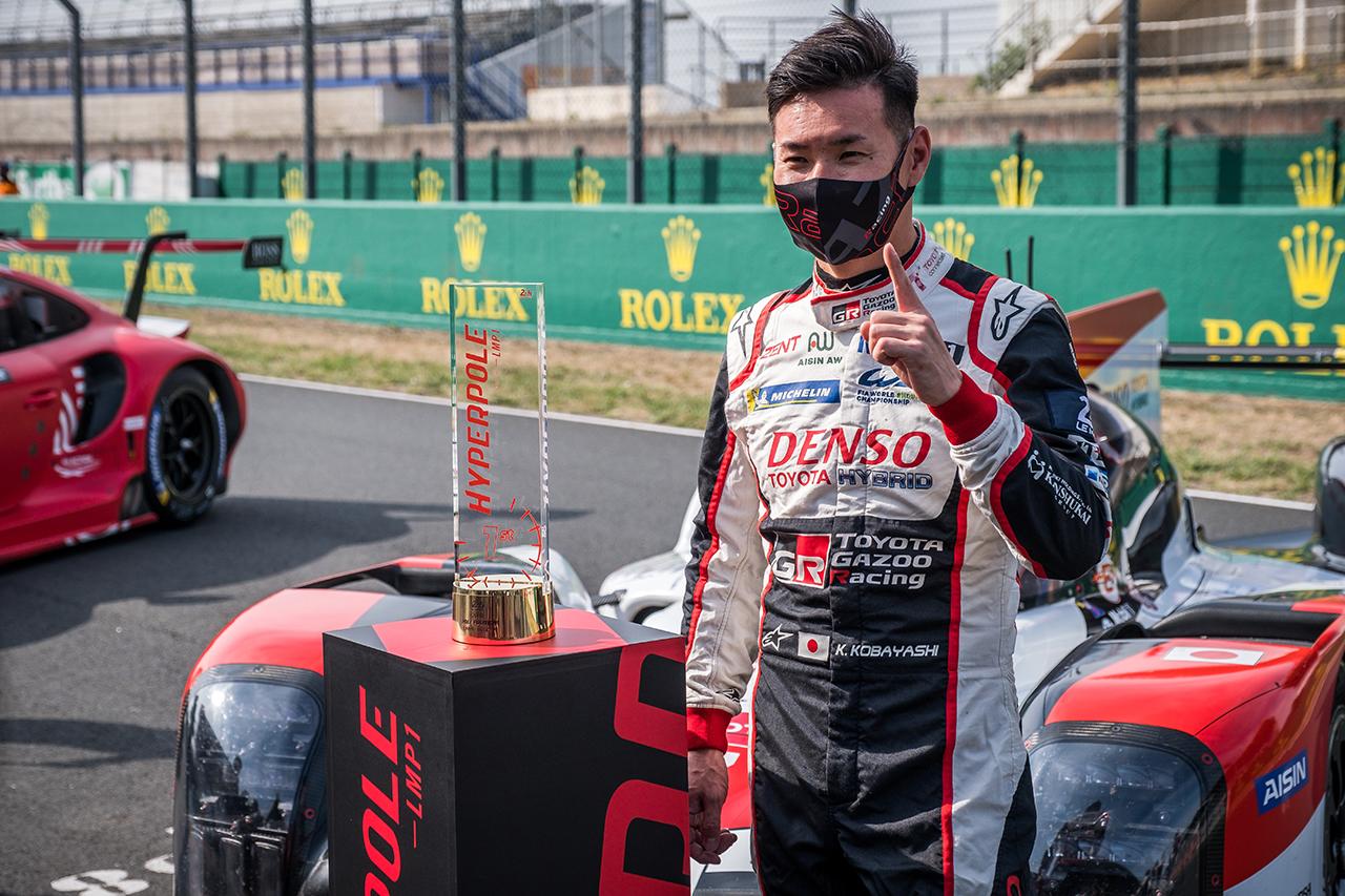 Photo of トヨタ、小林可夢偉のTS050 HYBRID 7号車がポールポジション獲得/ルマン24時間[F1-Gate.com]