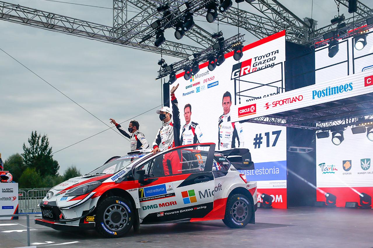 WRC:トヨタ 第4戦 ラリー・エストニア デイ1レポート