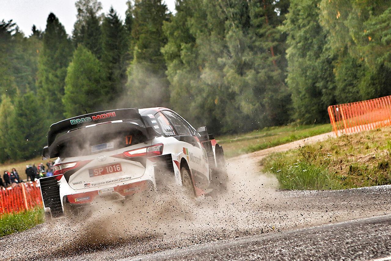 WRC:トヨタ 第4戦 ラリー・エストニア デイ2レポート