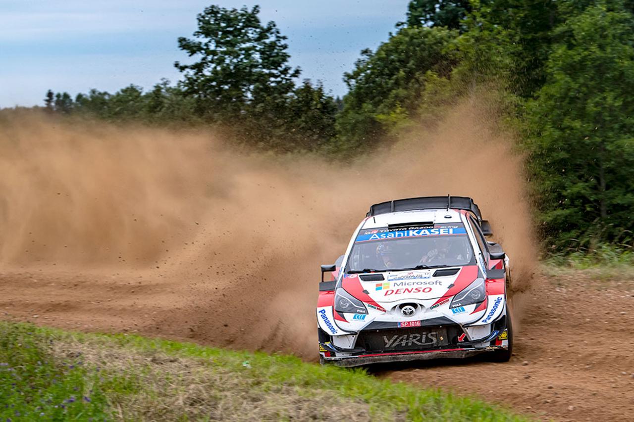 WRC:トヨタ 第4戦 ラリー・エストニア デイ3レポート