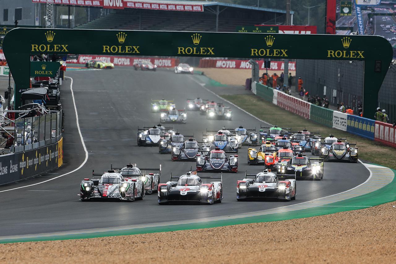 ル・マン24時間レース 6時間経過:トヨタが1-2体制で夜間走行へ突入