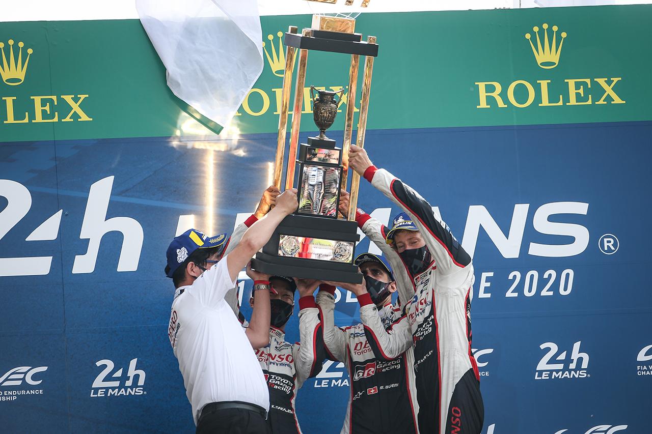 トヨタ:ル・マン24時間 決勝レポート … TS050 HYBRID  8号車が3連覇!7号車はトラブルから追い上げ3位表彰台