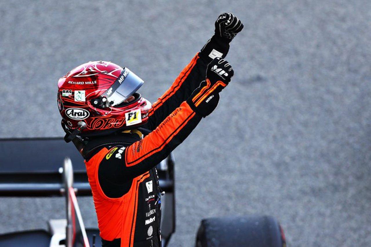 松下信治 「ベルギー大会での出来事以降、シーズン継続が困難になった」 / FIA-F2