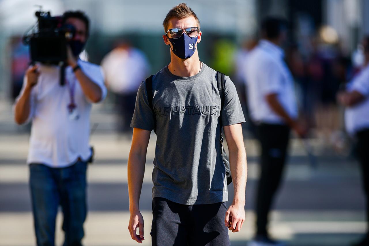 ダニール・クビアト 「ミッドフィールドでまだ少し遅れをとっている」 / アルファタウリ・ホンダ F1ロシアGP プレビュー