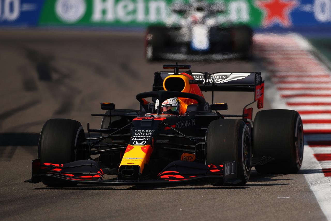 【速報】 F1ロシアGP FP1結果:マックス・フェルスタッペンは3番手