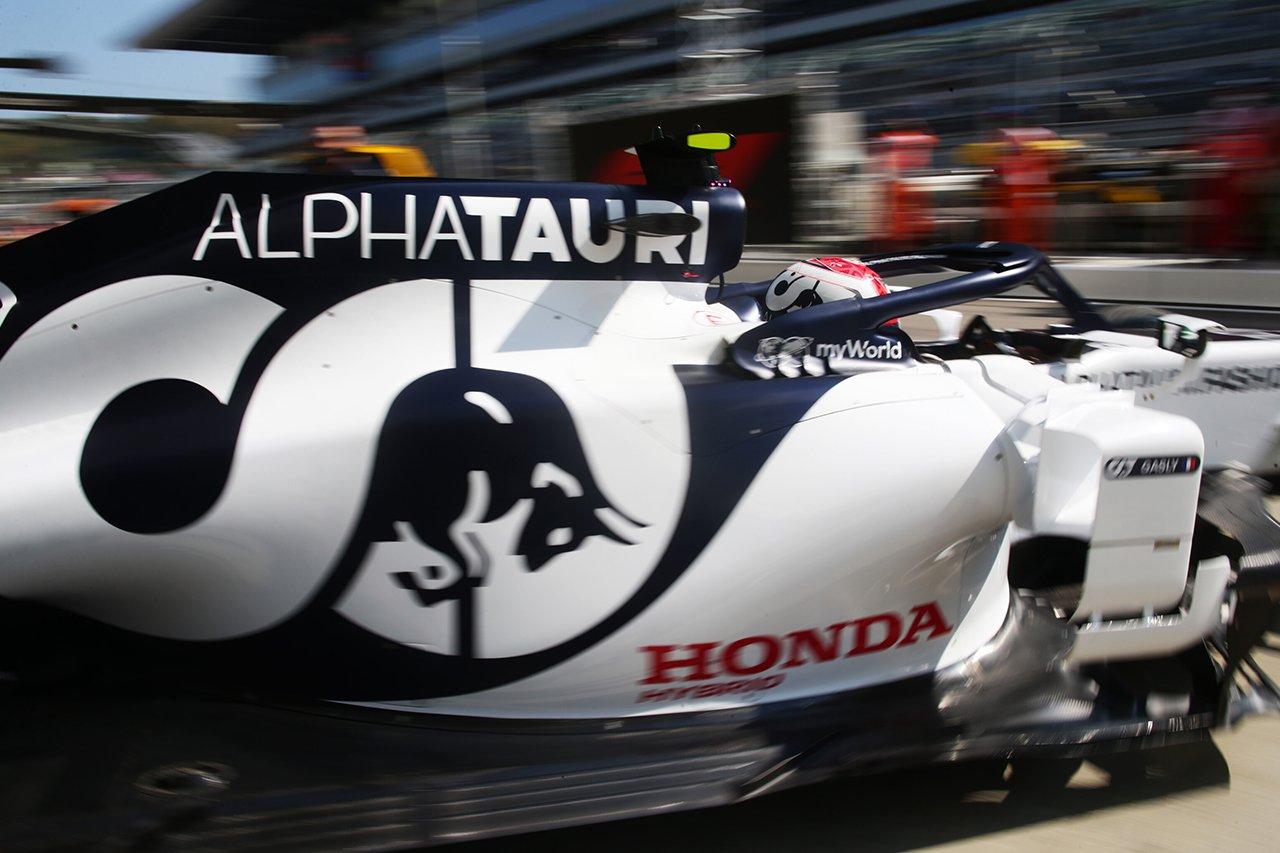 アルファタウリ・ホンダF1 「タイヤに注力して戦略理解を深めた」 / F1ロシアGP 金曜フリー走行