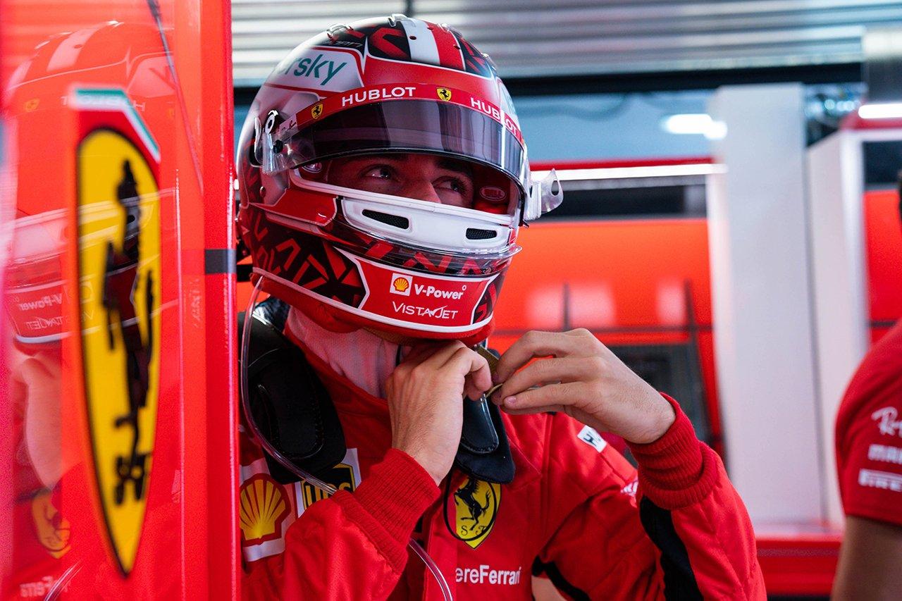 シャルル・ルクレール 「主に焦点を当てなければならないのはバランス」 / フェラーリ F1ロシアGP 金曜フリー走行
