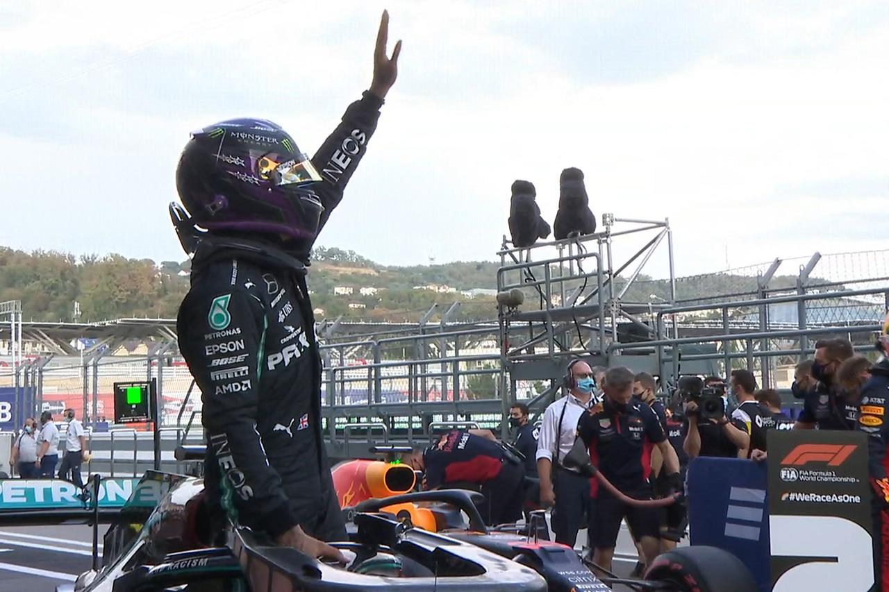 F1ロシアGP 予選:トップ3ドライバー インタビュー