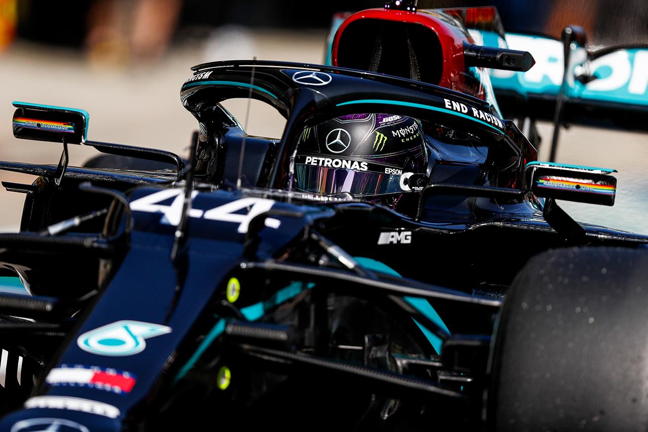 ルイス・ハミルトン 「ドライビングとセットアップの両面でまだ作業中」 / メルセデス F1ロシアGP 金曜フリー走行