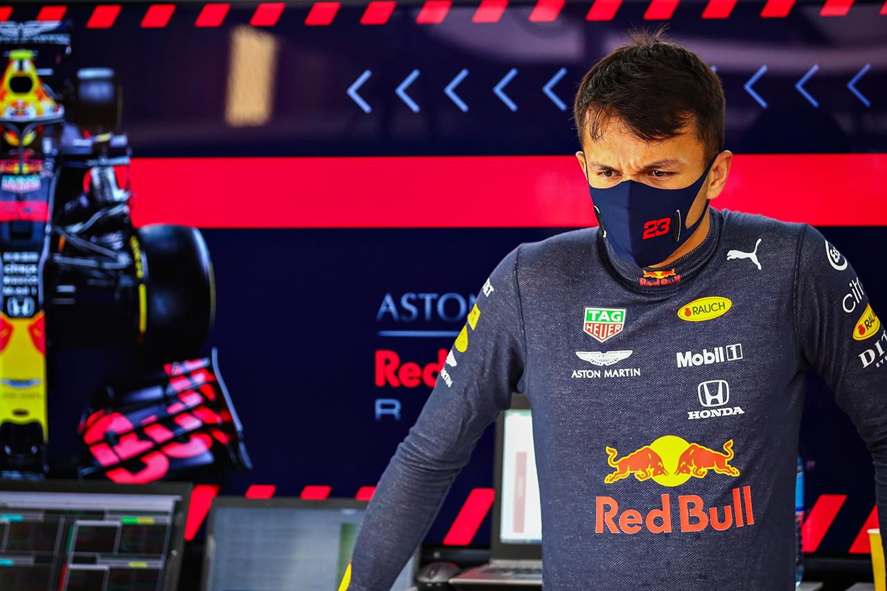 アレクサンダー・アルボン 「なぜこのような結果になったのか分からない」 / レッドブル・ホンダ F1ロシアGP 予選