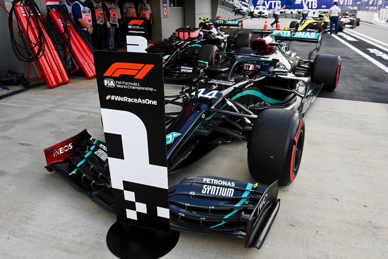 2020年 F1ロシアGP 決勝:暫定スターティンググリッド