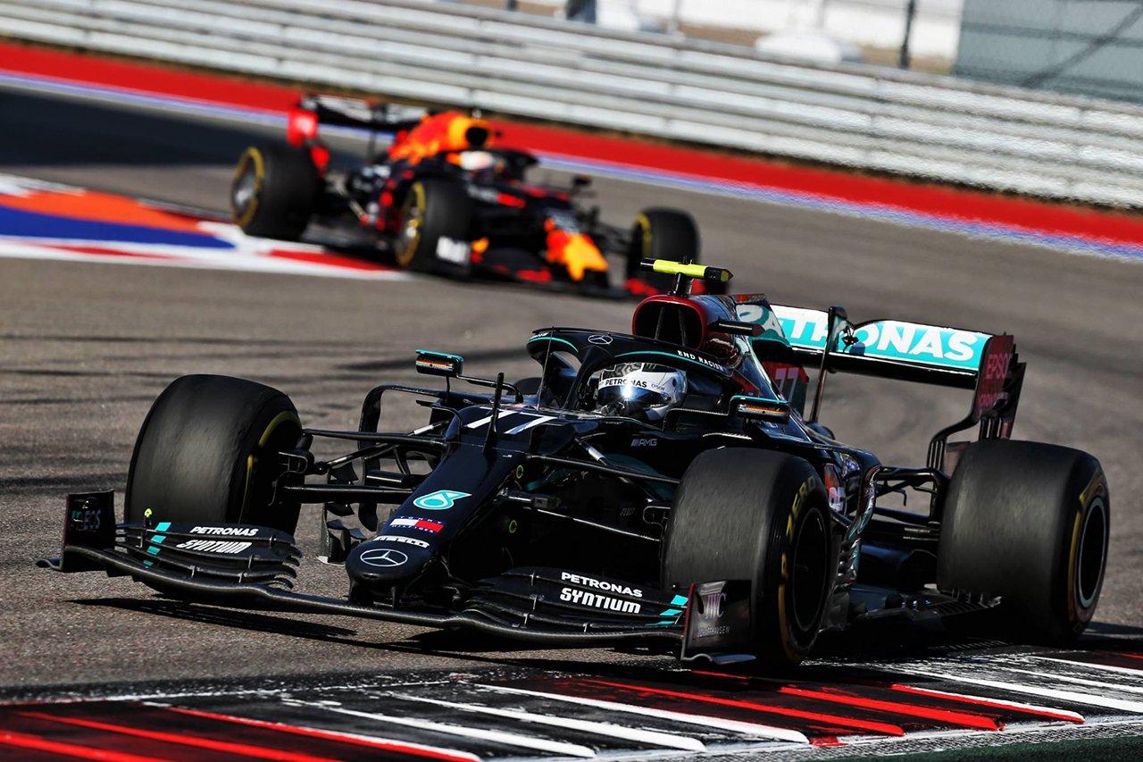 F1ロシアGP 結果:ボッタスが今季2勝目、フェルスタッペン2位表彰台&ホンダF1エンジン全4台が入賞