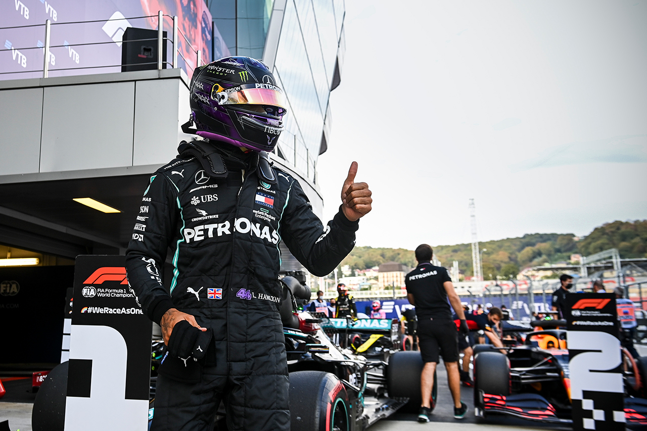 ルイス・ハミルトン 「おそらくポールスタートが最も不利なトラック」 / メルセデス F1ロシアGP 予選