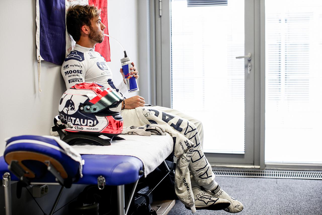 ピエール・ガスリー 「予選に向けて自信があったわけではない」 / アルファタウリ・ホンダ F1ロシアGP 予選