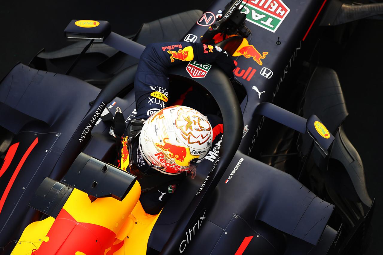 レッドブル・ホンダF1 「メルセデスを分断してのフロントローは驚異的」 / F1ロシアGP 予選