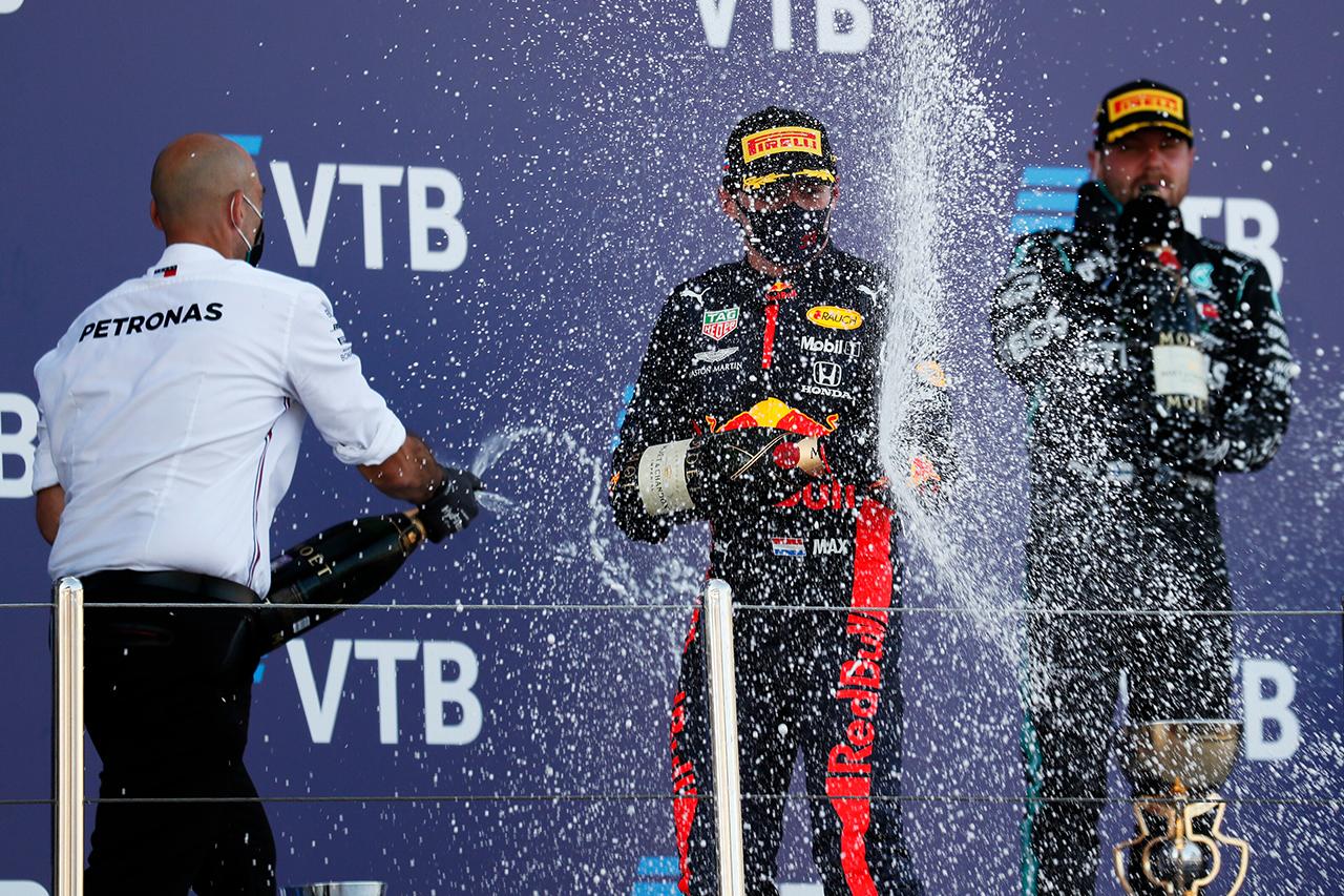 F1ロシアGP 決勝:トップ10 ドライバーコメント