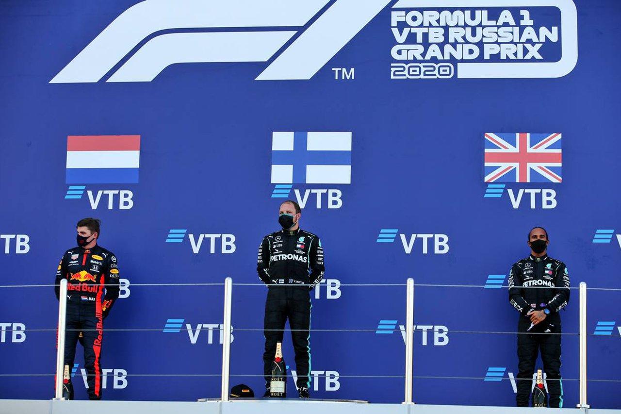 2020年 F1ポイントランキング:ルイス・ハミルトンが200ポイント台に到達 / F1ロシアGP 終了時点