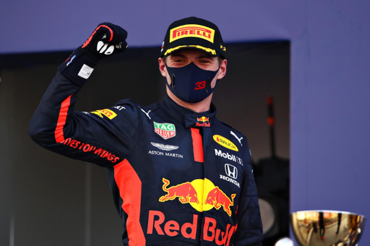 マックス・フェルスタッペン、2位表彰台 「結果を最大化できた」 / レッドブル・ホンダ F1ロシアGP 決勝後のコメント