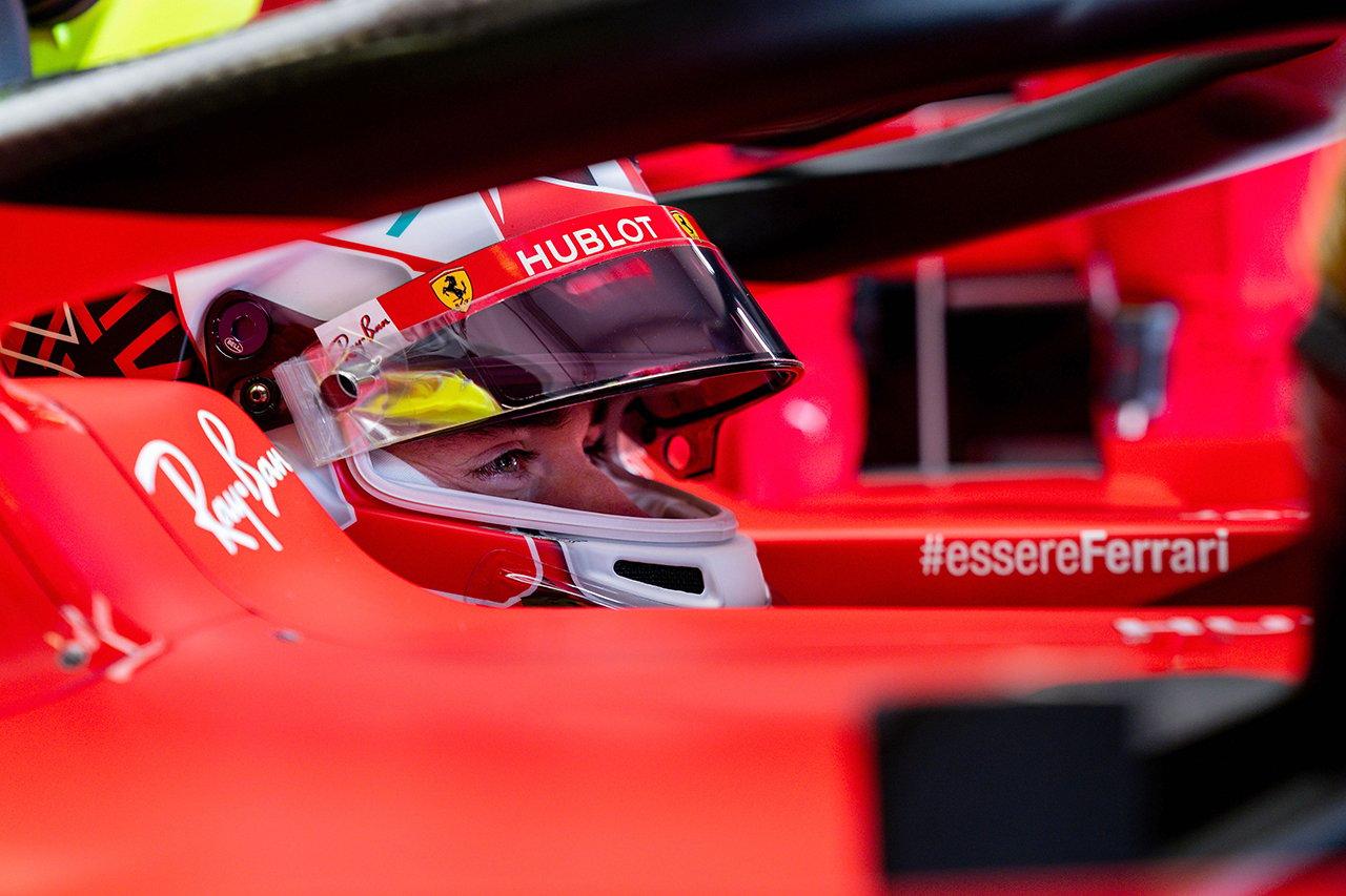 シャルル・ルクレール 「4番手は予想以上。正しい方向に進んでいる」 / フェラーリ F1アイフェルGP 予選