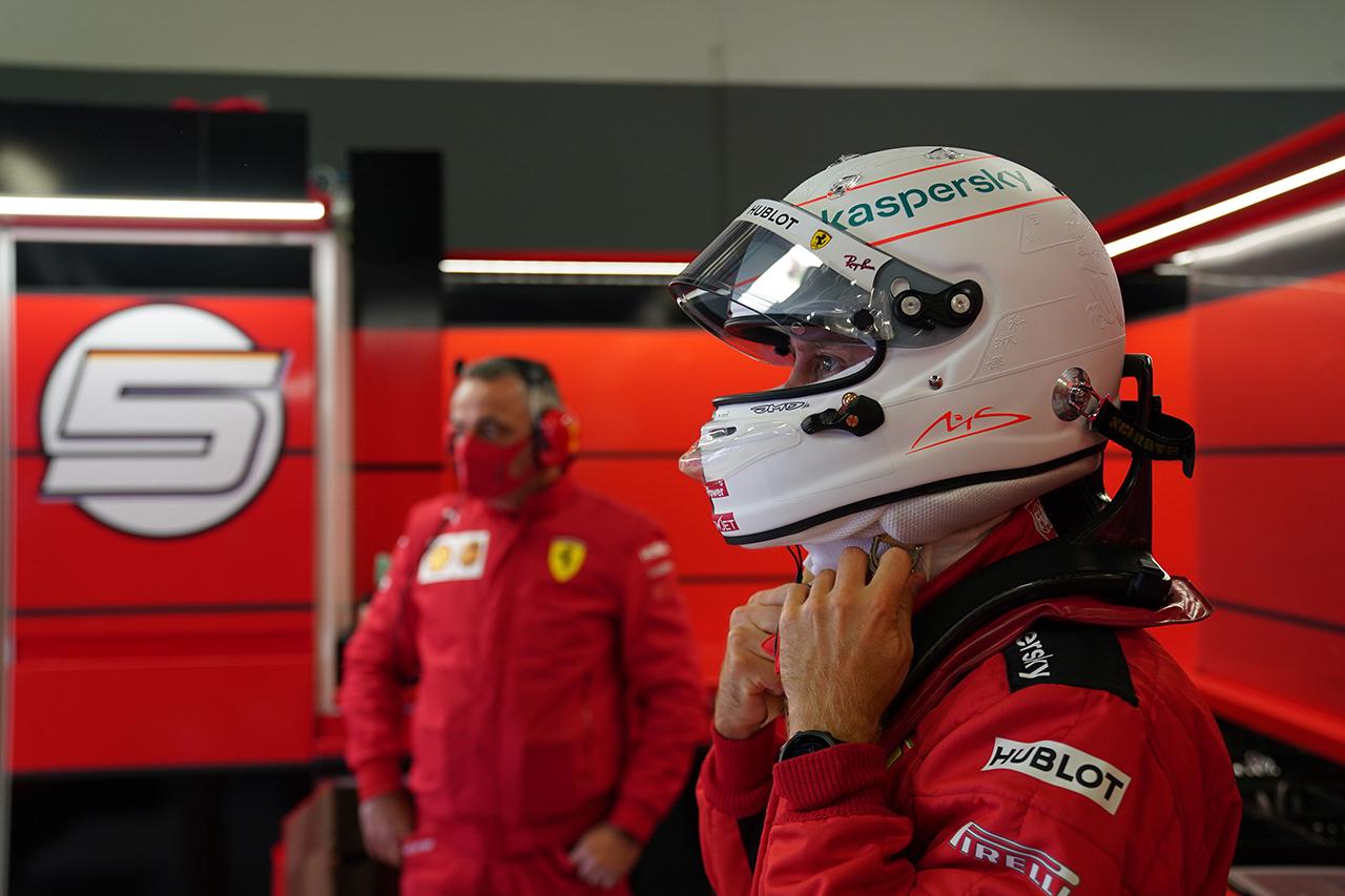 セバスチャン・ベッテル、Q2敗退に「あらゆる手を尽くしたけど・・・」 / フェラーリ F1アイフェルGP 予選