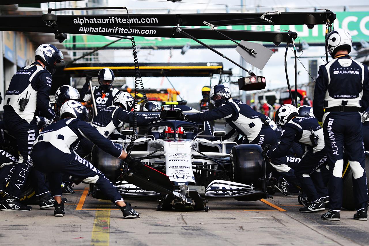 アルファタウリ・ホンダF1 「ガスリーのフィードバックは素晴らしかった」 / F1アイフェルGP 決勝