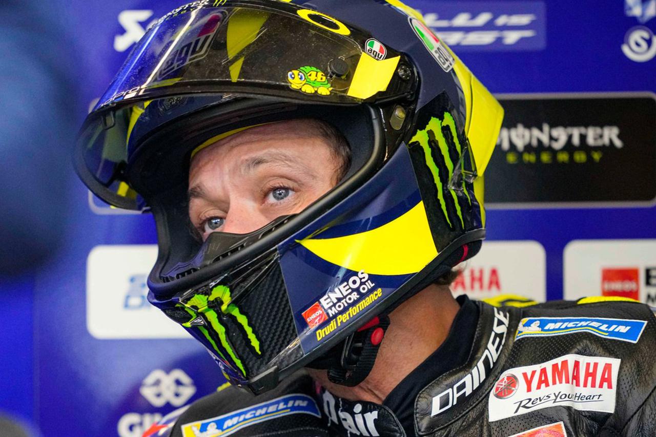 バレンティーノ・ロッシ、新型コロナウイルス感染でアラゴンGPを欠場 / MotoGP