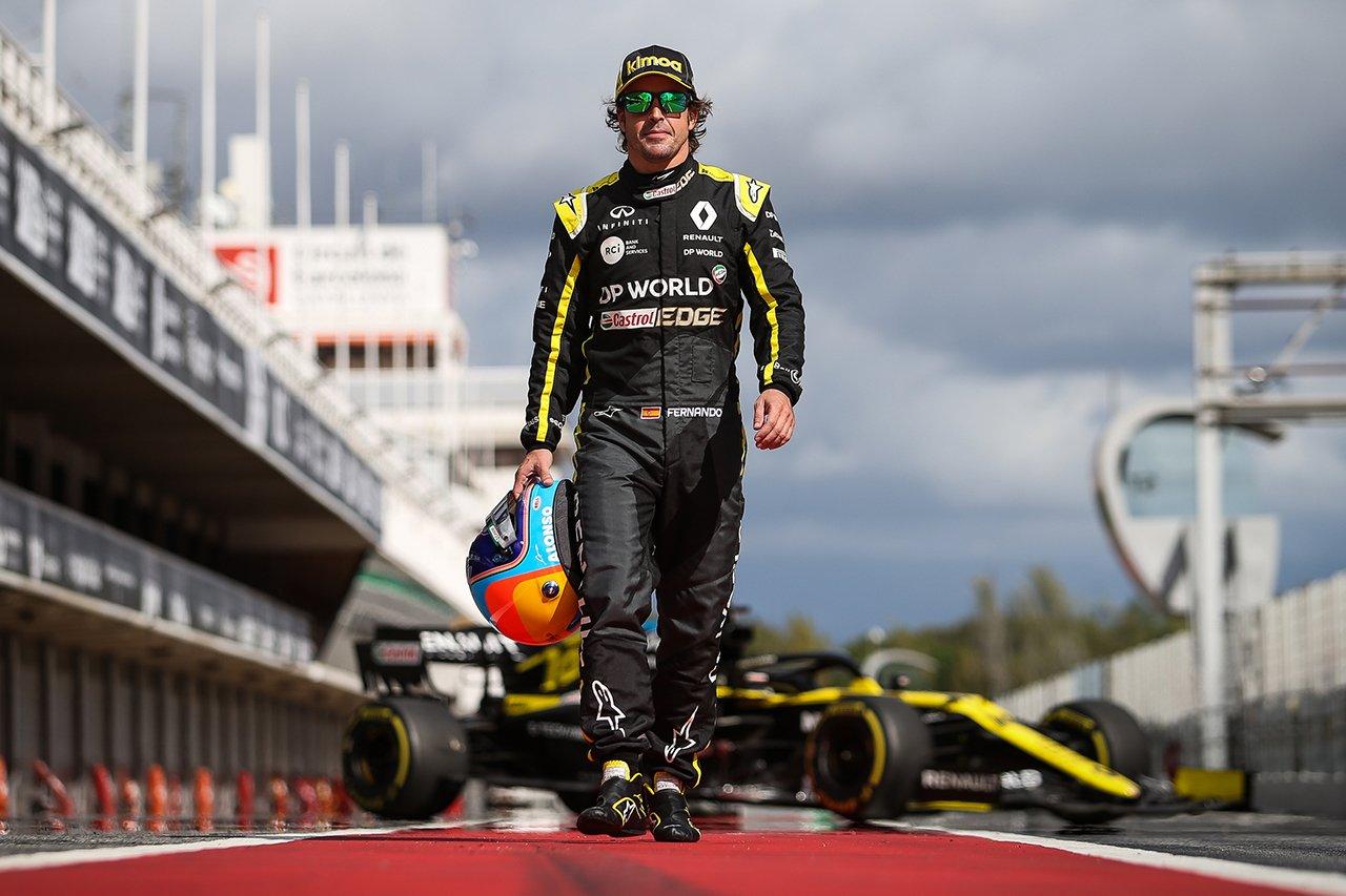 カルロス・サインツ 「アロンソのルノーF1復帰は非常にいいタイミング」