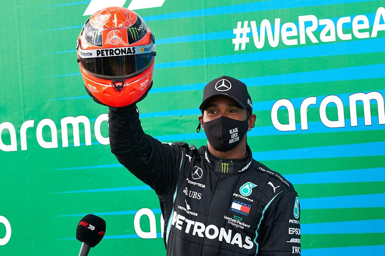 ルイス・ハミルトン、F1史上最多勝利数に到達も低評価の怪