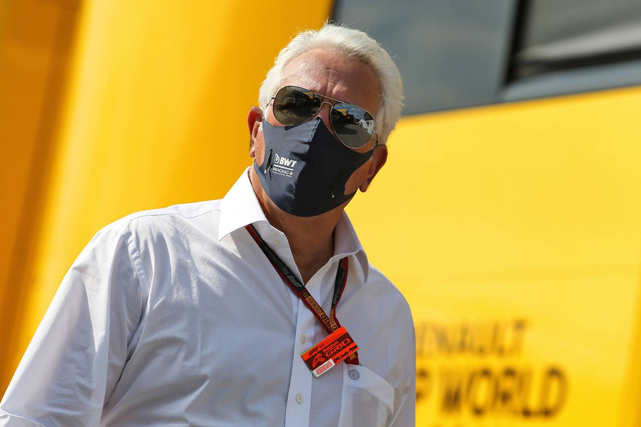 Lawrence Stroll is also infected with the new coronavirus / Racing Point F1[F1-Gate.com]
