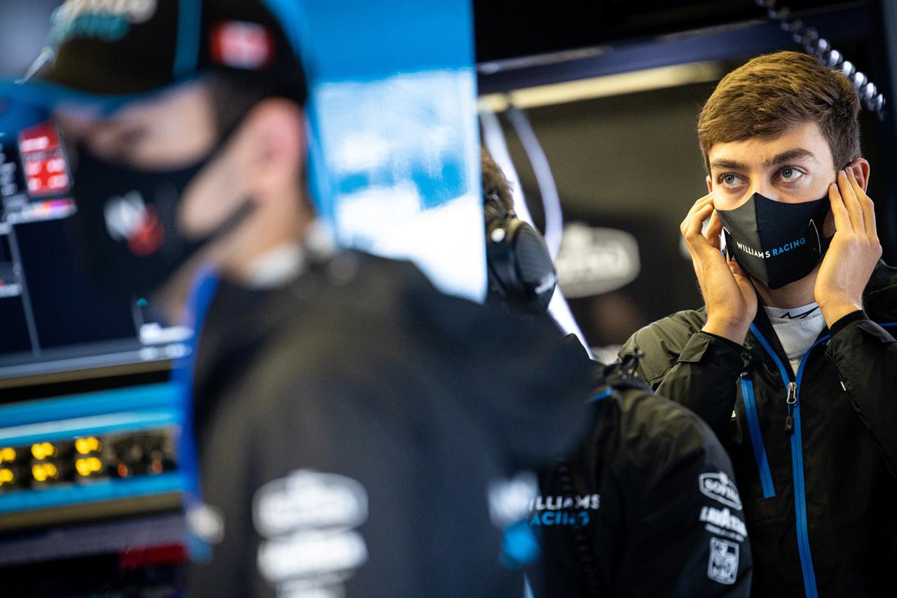 ジョージ・ラッセル、ウィリアムズF1のシート喪失説も「心配していない」