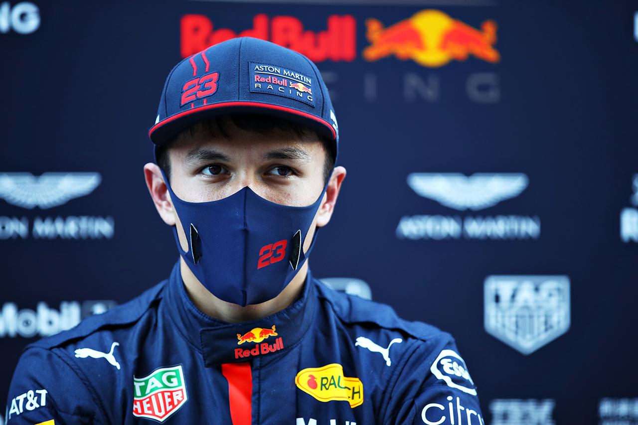 アレクサンダー・アルボン 「まるで氷の上を走っているようだった」 / レッドブル・ホンダ F1ポルトガルGP 金曜フリー走行