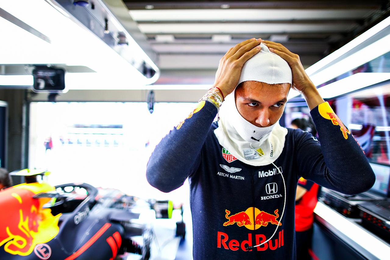 アレクサンダー・アルボン 「タイヤ毎に走り方を変える必要があった」 / レッドブル・ホンダ F1ポルトガルGP 予選