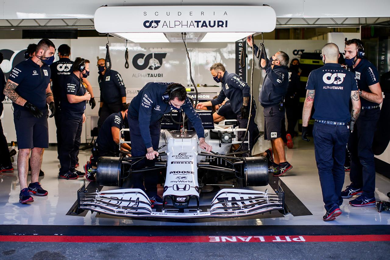 アルファタウリ・ホンダF1 「目標は2台揃ってポイント獲得のまま」 / F1ポルトガルGP 予選
