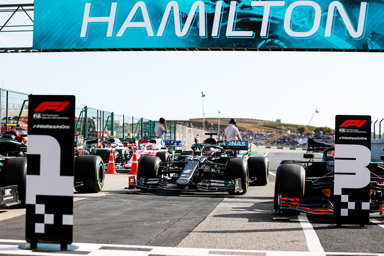 2020年 F1ポルトガルGP 決勝:暫定スターティンググリッド