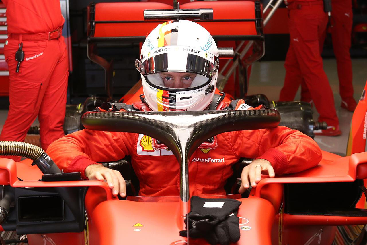 セバスチャン・ベッテル 「予選ではミディアムに問題が多すぎた」 / フェラーリ F1ポルトガルGP 予選