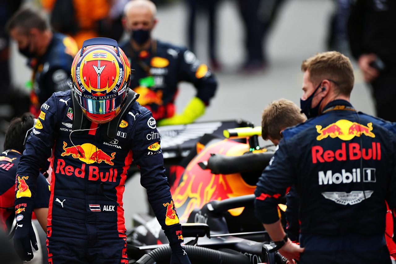 アレクサンダー・アルボン 「タイヤを適正な温度レンジに入れるのに苦労」 / レッドブル・ホンダ F1ポルトガルGP 決勝
