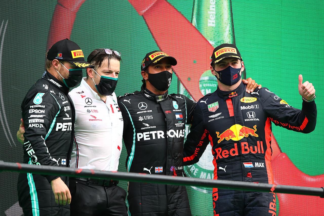 F1ポルトガルGP 決勝:トップ10 ドライバーコメント