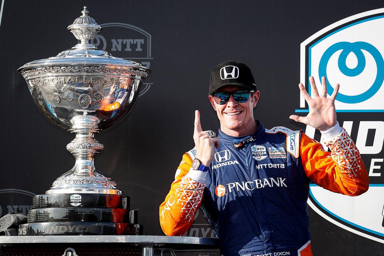 インディカー:スコット・ディクソンが2020年のチャンピオン獲得