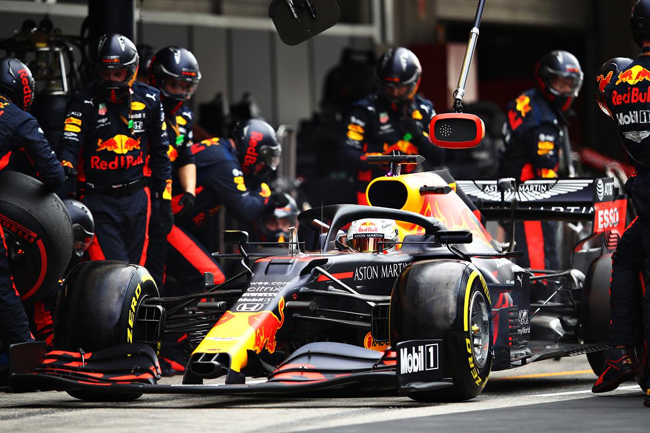 レッドブル・ホンダF1代表 「ミディアムの方が適したタイヤだった」 / F1ポルトガルGP 決勝